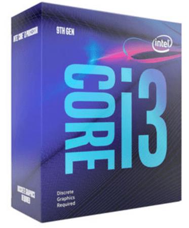 Intel procesor Core i3-9100F, Coffee Lake