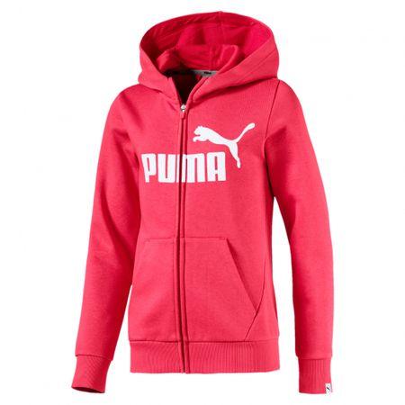 Puma Dívčí mikina Energize FZ 128 oranžová