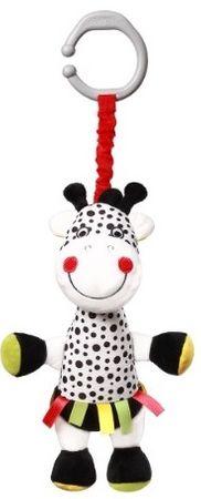 BabyOno Závěsná plyšová hračka s vibrací Žirafa Adelle