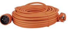 EMOS Predlžovací kábel - spojka, 25 m, oranžový (1901012500)