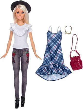Mattel lalka Barbie Modelka z ubraniami i akcesoriami 83