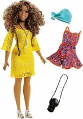 Mattel lalka Barbie Modelka z ubraniami i akcesoriami 85