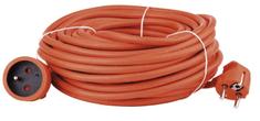Emos Prodlužovací kabel – spojka 30 m, oranžový