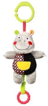BabyOno Felakasztható zenélő plüss Albert a víziló