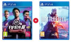 EA Games komplet igara FIFA 19 i Battlefield V (PS4)
