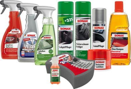 Sonax set za osnovno čiščenje SO8101, 10 delni