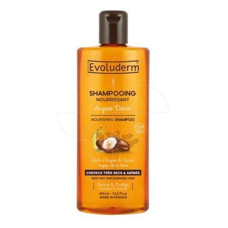 Evoluderm Odżywczy szampon bardzo suchej i zniszczonych olejem arganowy (odżywczy szampon arganowy Divin) 400