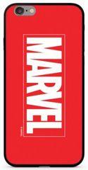 MARVEL 005 Premium Glass Zadný Kryt pre iPhone 6 / 6S Plus Red, MVPCV2202