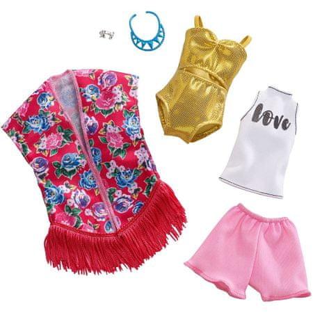 Mattel Barbie Kétrészes ruhakészlet FXJ62