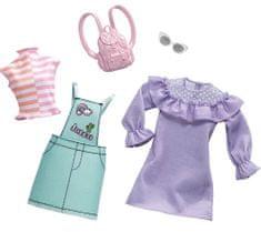 Mattel dwuczęściowy zestaw ubrań Barbie FXJ64