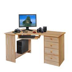 IDEA nábytok PC stôl rohový 8846 lakovaný