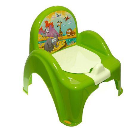 COSING Nočník - stolička (hracia), zelená