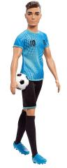 Mattel Barbie Ken Foglalkozások Focista