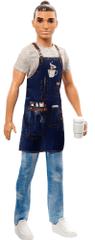 Mattel Barbie Ken Povolání Čišník