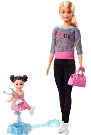 Mattel Barbie Sport készlet Műkorcsolyázó