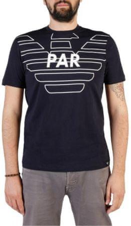 Emporio Armani pánské tričko M modrá