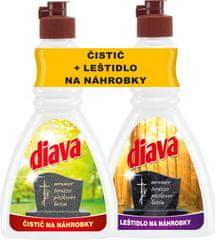 Tatrachema DIAVA čistič a leštidlo na náhrobky 2 × 250 ml