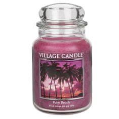 Village Candle Vonná sviečka v skle Palmová pláž (Palm Beach) 645 g