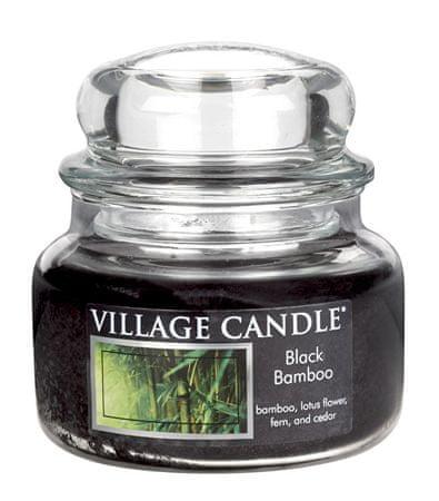 Village Candle Illatgyertya üvegben Bambus (Black Bamboo) 269 g