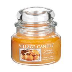 Village Candle Świeca zapachowa w szkle pomarańczy i cynamonu (cynamon pomarańczowy) 269 g