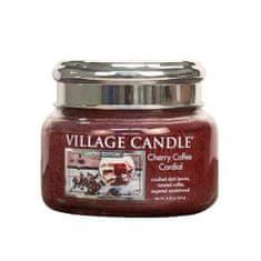 Village Candle Dišeča sveča v kozarcu (Cherry Coffee Cordial) 262 g