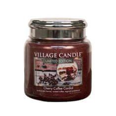 Village Candle Vonná sviečka v skle Čerešňovo kávový likér (Cherry Coffee Cordial) 602 g