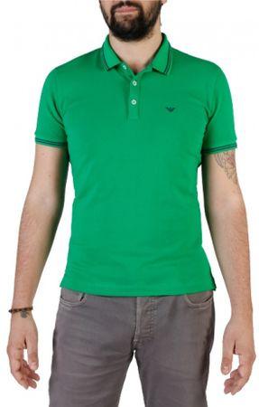 Emporio Armani pánská polokošile XXL zelená