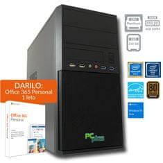 PCplus namizni računalnik Family G5400/4GB/SSD240GB/W10H + DARILO: 1 leto Office 365 (138774)