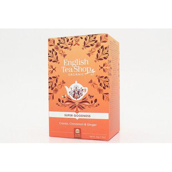 English Tea Shop Kakao, skořice a zázvor 20 sáčků