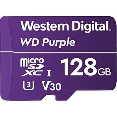 WD microSD kartica Purple, 128GB