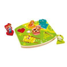 Hape Toys puzzle z zvokom - na kmetiji