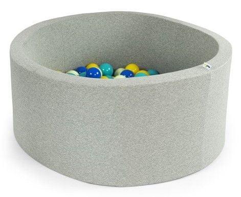 Misioo Bazén s míčky 90x40cm modrá