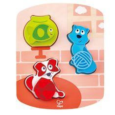 Hape Toys puzzle hišni ljubljenčki
