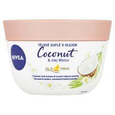 Nivea Tělové suflé s olejem Coconut & Manoi Oil 200 ml
