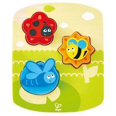 Hape Toys puzzle pikapolonica metuljček in čebelica