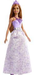 Mattel Barbie Kouzelná princezna fialová FXT15