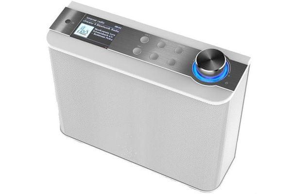 kuchyňské rádio soundmaster ir1450we výkon 5 w upnp dlna wifi fm pll tuner s rds internetové rádio