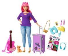 Mattel Barbie Cestovatelka Muzikantka