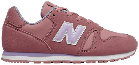 New Balance dívčí tenisky YC373CF 31 růžová