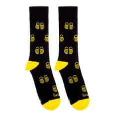 Fusakle  Ponožky Na zdraví čierne