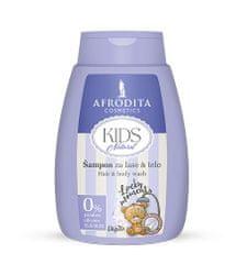 Kozmetika Afrodita šampon za lase & telo Kids Natural, 200ml