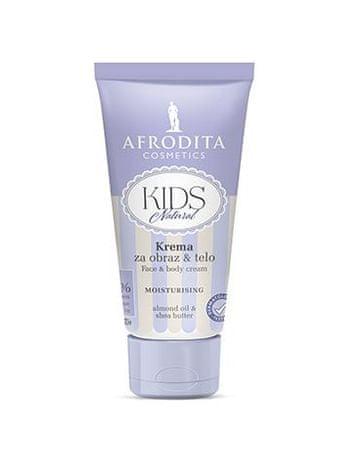 Kozmetika Afrodita krema za obraz & telo Kids Natural, 75ml