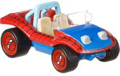 Hot Wheels Prémiové auto - Kultovní autíčko Spider-mobile