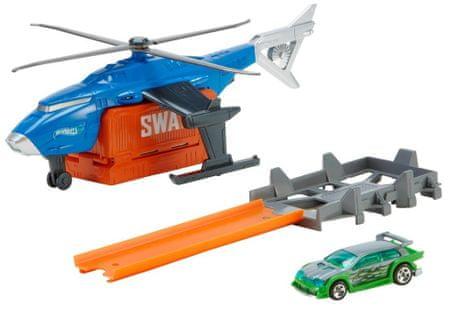 Hot Wheels Super akció Super SWAT Copter