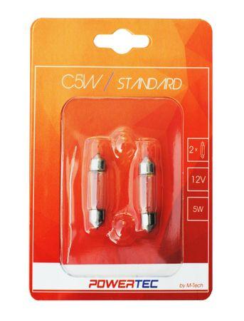 M-Tech žarnice Powertec Standard C5W 12V 5W 36 mm