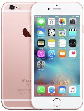 Apple iPhone 6S, 128 GB, růžově zlatý