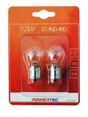 POWERTEC žarnice Standard P21W 12V 21W BA15S