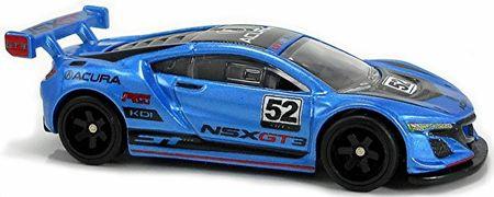 Hot Wheels Prémium autó – A nagyok Acura NSX GT3