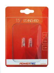 POWERTEC žarnice Standard T5 12V 1,2W W2X4.6D