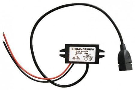 Tractive Adapter samochodowy 12V/5V USB